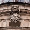 Kaplica Męczeństwa św. Piotra (Tempietto),  herb królów hiszpańskich - fundatorów kaplicy