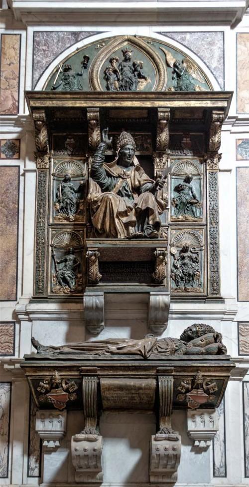 Nagrobek papieża Innocentego VIII, bazylika San Pietro in Vaticano