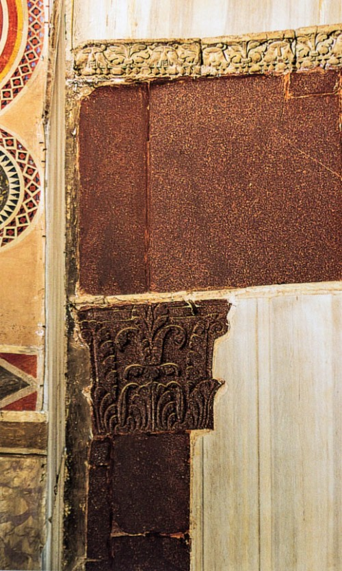 Sant'Agnese fuori le mura, pozostałości kościoła z VII w.