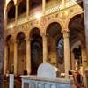 Bazylika Sant'Agnese fuori le mura, wnętrze, widok na emporę lewej nawy