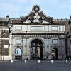 Porta del Popolo - brama, przez którą królowa Krystyna wkroczyła do Rzymu