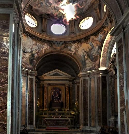 Santa Sabina, kaplica św. Katarzyny ze Sieny, XVII w.