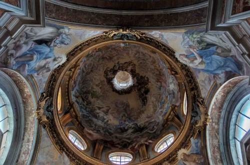 Santa Sabina, kopuła kaplicy św. Katarzyny ze Sieny