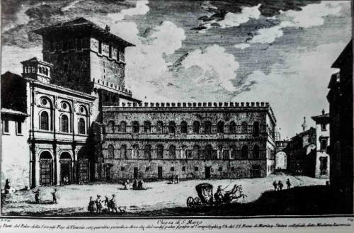 Kościół San Marco i Palazzetto przed przeniesieniem
