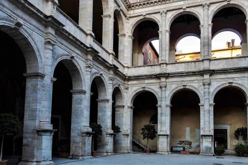 Palazzo Venezia, renesansowa loggia