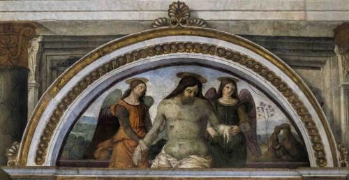 Warsztat Pinturicchia, Pieta, kościół Santa Maria del Popolo