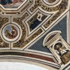 Pinturicchio, freski sklepienia absydy kościoła Santa Maria del Popolo, Koronacja Marii - sybille, ewangeliści i ojcowie Kościoła
