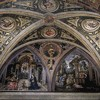 Pinturicchio, sceny Zwiastowania i Pokłon pasterzy, apartamenty papieża Aleksandra VI Borgii (Sala dei Misteri), pałac Apostolski