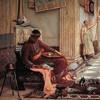 Honoriusz przyjmuje wiadomość o grabieży Rzymu przez Alaryka, John W. Waterhouse, zdj. Wikipedia
