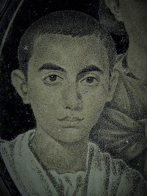 Domniemany portret cesarza Walentyniana III w wieku młodzieńczym, zdj. Wikipedia