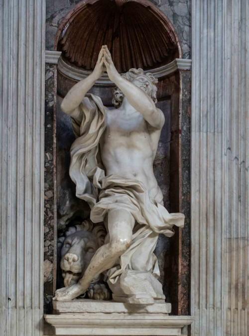 Gian Lorenzo Bernini, Daniel, kaplica Chigich, kościół Santa Maria del Popolo