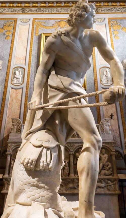 Gian Lorenzo Bernini, Dawid, Galleria Borghese