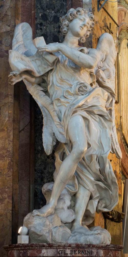 Gian Lorenzo Bernini, figura anioła w kościele Sant'Andrea delle Fratte
