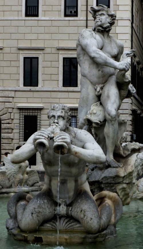 Gian Lorenzo Bernini, Fontana del Moro, Piazza Navona