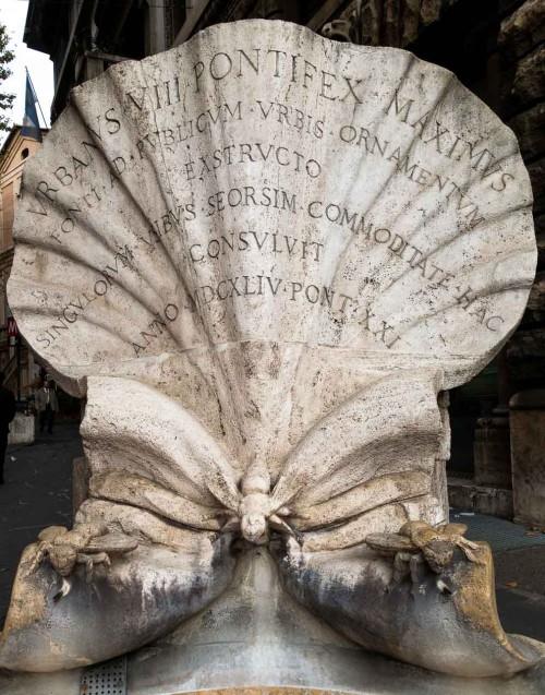 Gian Lorenzo Bernini, Fontana delle Api, Piazza Barberini