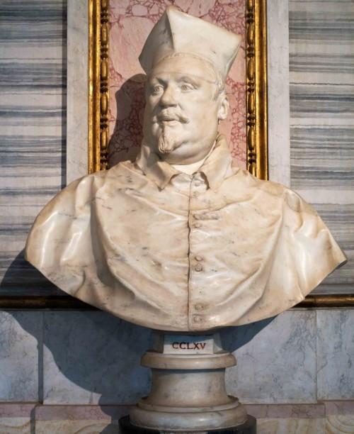 Gian Lorenzo Bernini, kardynał Scipione Borghese - popiersie, Galleria Borghese