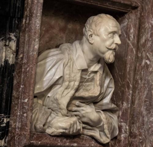 Gian Lorenzo Bernini, popiersie Gabriele Fonseca,  kościół San Lorenzo in Lucina