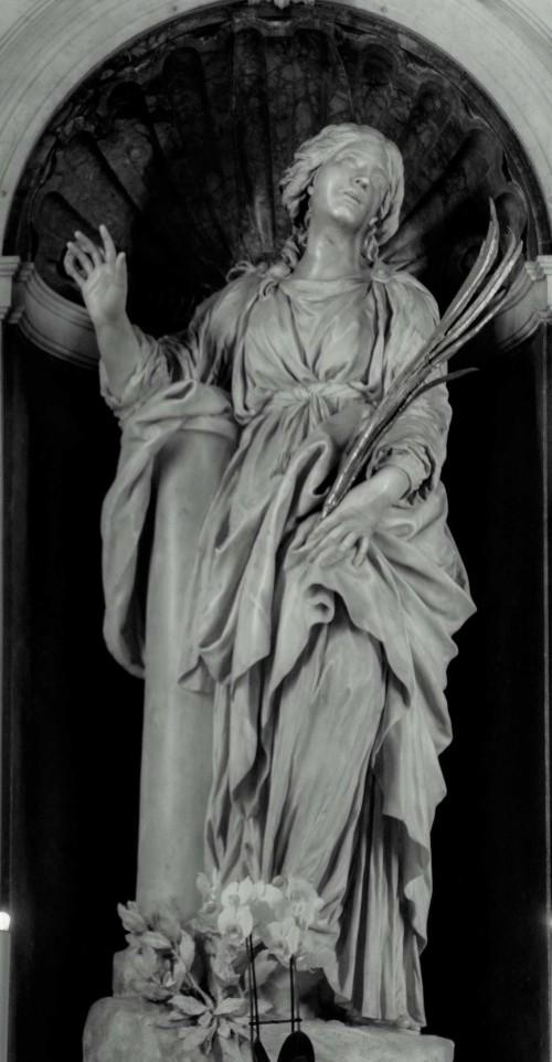 Gian Lorenzo Bernini, posąg św. Bibiany w ołtarzu głównym kościoła Santa Bibiana