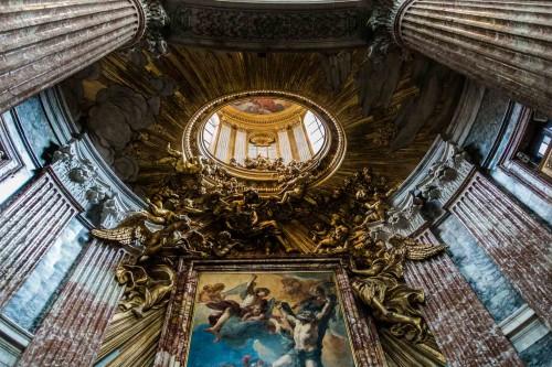 Gian Lorenzo Bernini, widok ołtarza, kościół Sant'Andrea al Quirinale
