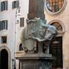 Gian Lorenzo Bernini (projekt), Ercole Ferrata (wykonanie), obelisk przed kościołem Santa Maria sopra Minerva