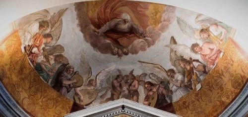 Guido Reni, Koncert anielski, oratorium Santa Silvia