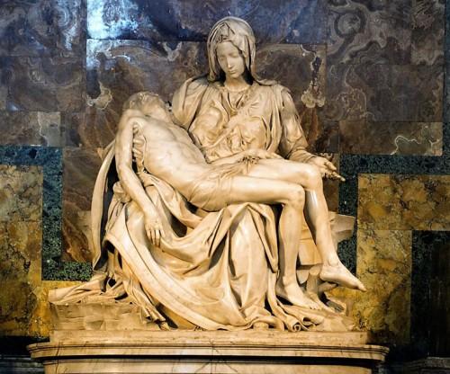Pieta, Michał Anioł, bazylika San Pietro in Vaticano