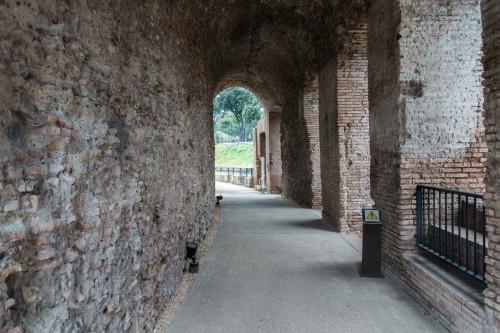 Circus Maximus, pozostałości dawnych trybun hipodromu
