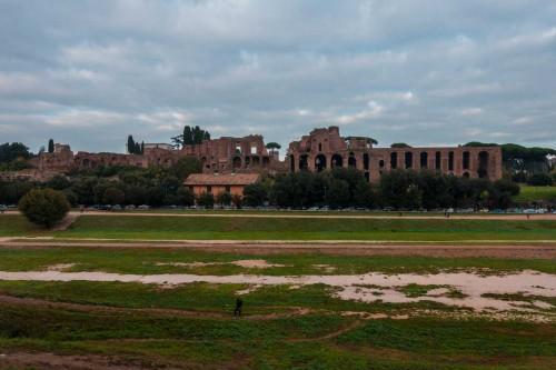 Circus Maximus, widok na Palatyn