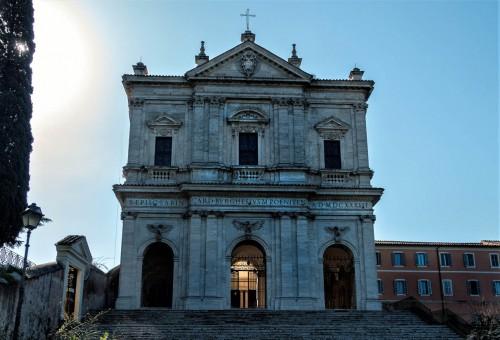 Kościół pod wezwaniem św. Grzegorza -  San Gregorio Magno na wzgórzu Celio