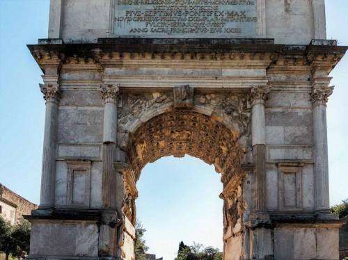 Triumphant arch of Emperor Titus, Forum Romanum