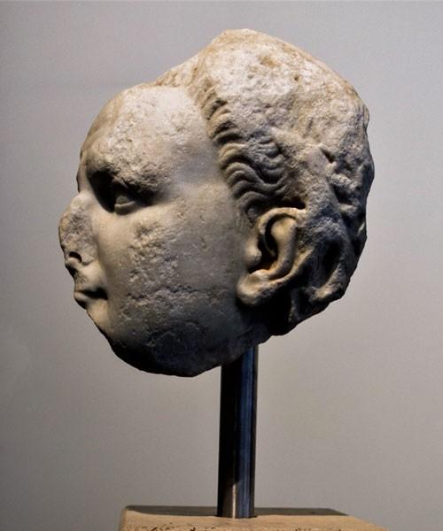 Podobizna cesarza Tytusa, Museo Palatino