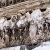 Pillaging of the Jerusalem Temple, relief on the triumphant arch of Emperor Titus, Forum Romanum