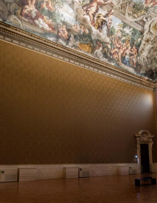 Triumf Opatrzności Bożej, dekoracja stropu Salone Grande, Pietro da Cortona, Museo Nazionale d'Arte Antica, Palazzo Barberini