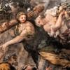 Triumf Opatrzności Bożej, Sprawiedliwość w towarzystwie Dobrobytu, Pietro da Cortona, Palazzo Barberini
