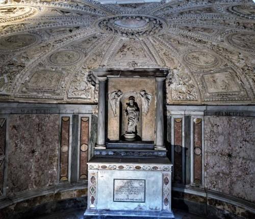 Kaplica Męczeństwa św. Piotra (Tempietto), wnętrze krypty