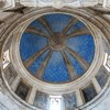 Kaplica Męczeństwa św. Piotra (Tempietto), wnętrze kaplicy, widok kopuły