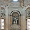 Kaplica Męczeństwa św. Piotra (Tempietto), wnętrze kaplicy z ołtarzem św. Piotra