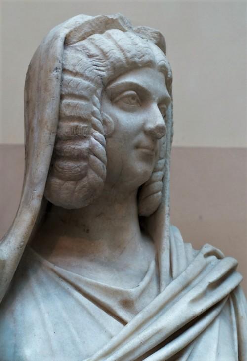 Cesarzowa Julia Domna, fragment, Museo Ostiense, Ostia Antica