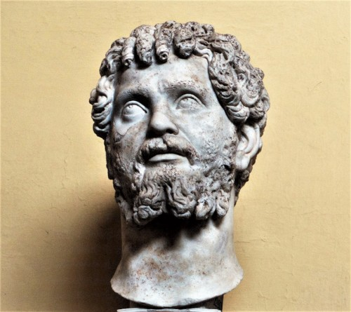 Head of Septimius Severus, Musei Vaticani