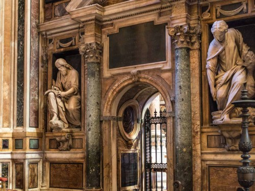 Kaplica Barberinich w kościele Sant'Andrea della Valle, jedna z pierwszych fundacji kardynała Barberiniego w Rzymie