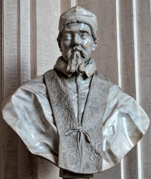 Popiersie papieża Urbana VIII, Gian Lorenzo Bernini, Galleria Nazionale d'Arte Antica