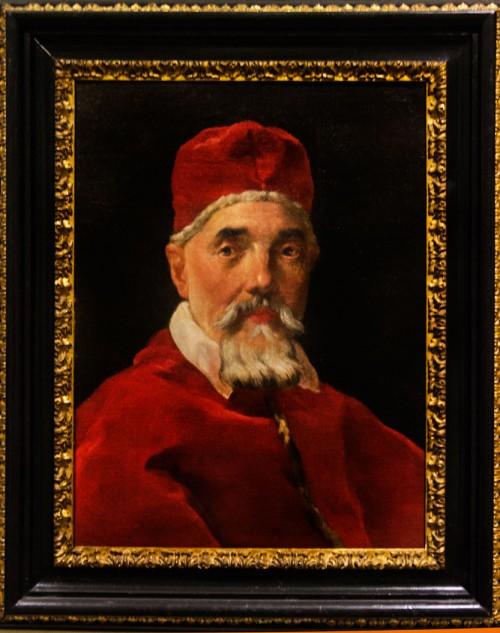 Portret papieża Urbana VIII, Gian Lorenzo Bernini, Galleria Nazionale d'Arte Antica, Palazzo Barberini