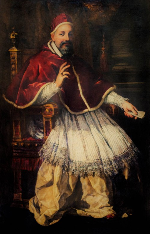 Portret papieża Urbana VIII, Pietro da Cortona, Musei Capitolini