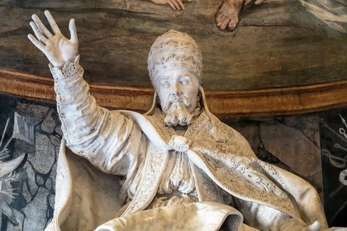 Posąg papieża Urbana VIII, Gian Lorenzo Bernini, Musei Capitolini