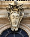 Barberini coat of arms, three bees, Palazzo Barberini