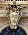 Herb rodu Barberini, trzy pszczoły, Palazzo Barberini