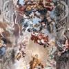 Triumf Opatrzności Bożej - wielka gloria rodu Barberini, Pietro da Cortona -  fresk w Salone Grande w Palazzo Barberini, Galleria Nazionale d'Arte Antica