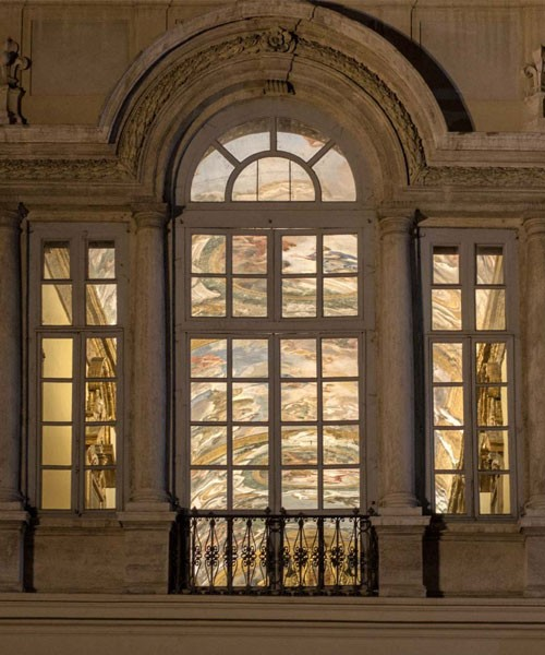 Palazzo Pamphilj, Piazza Navona, Galleria Serliana, obecnie ambasada Brazylii