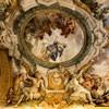Historia Eneasza, Junona namawia Eola na wzniecenie sztormów, Neptun uspakajający wiatry, Pietro da Cortona, Palazzo Pamphilj