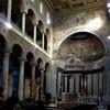 Wnętrze bazyliki Sant'Agnese fuori le mura